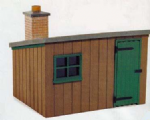 Peco LK-704 Wooden Lineside Hut